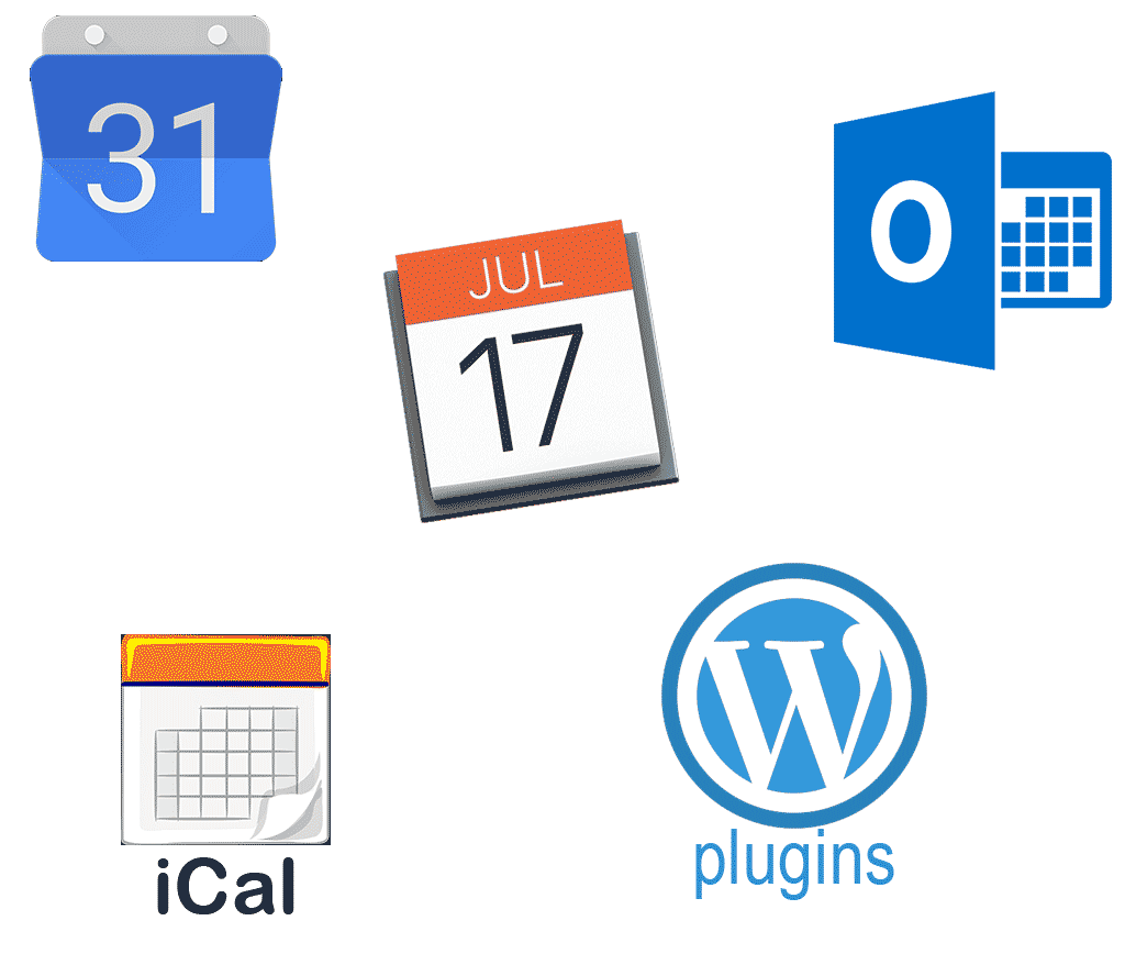 many 3rd party apps supporting ical calendar format